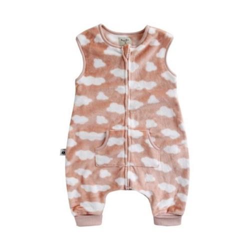 [극세사]구르미(핑크)극세사수면조끼 유아수면조끼 아동수면조끼