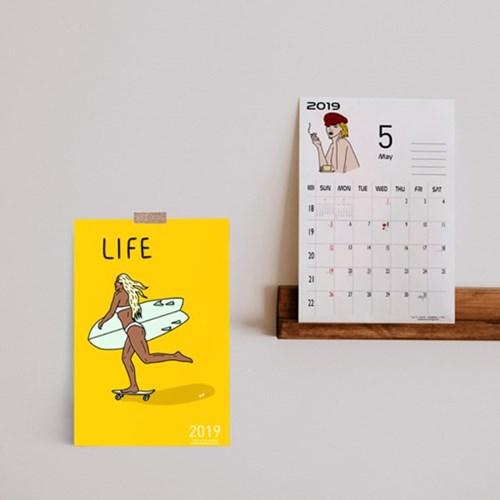 [YOYO] 2019 Calendar