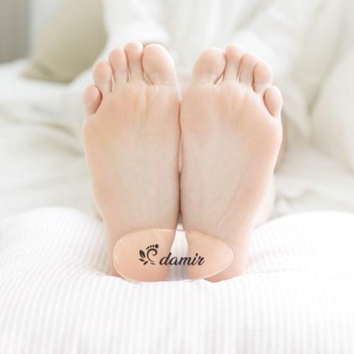 다미르 발 바닥 뒤꿈치 굳은살 각질 제거 네일 샤이너
