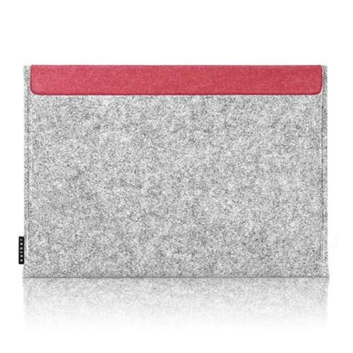 Sleeve for Macbook air & Macbook (Gray/Red)