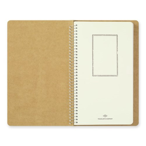 SPIRAL RING NOTEBOOK (A5 slim) MD White