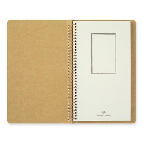 SPIRAL RING NOTEBOOK (A5 Slim) Card File