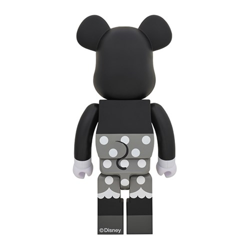 [KINKI ROBOT]1000%BEARBRICK MINNIE MOUSE B&W (1812012)