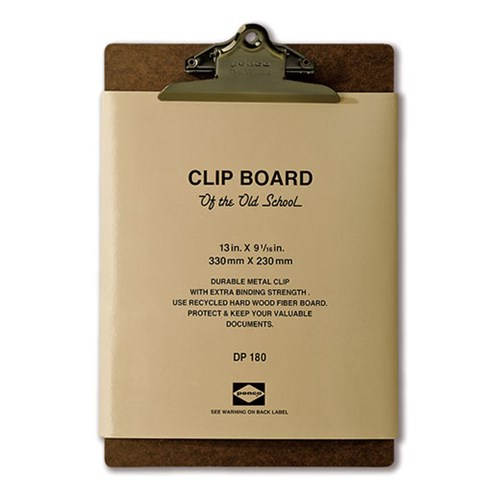 Penco Clipboard O / S Bronze - A4