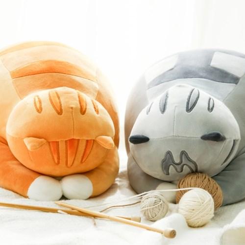 모찌모찌 고멘네코 식빵뚱냥 인형 - 고등어태비