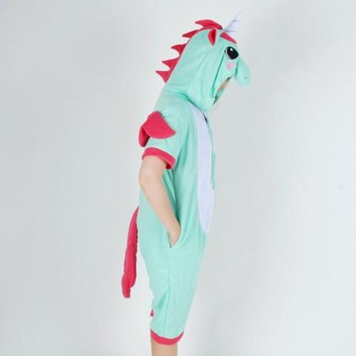 반팔 동물잠옷 유니콘 (민트)
