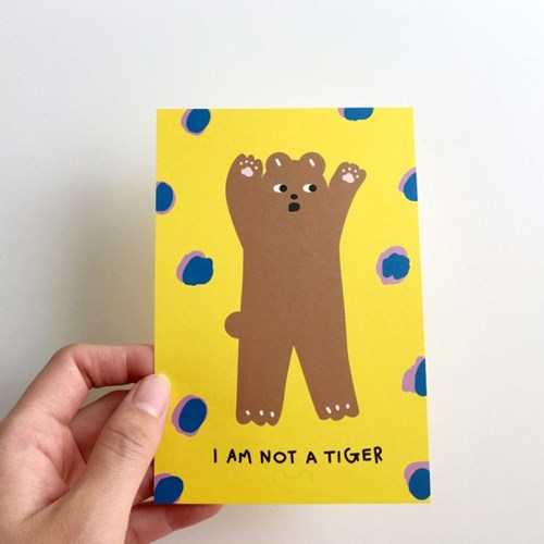 GOMDORY 곰도리 일러스트 엽서 카드