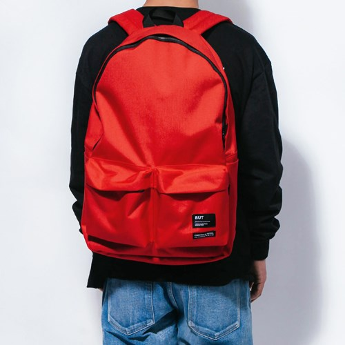 2PK NYLON BACKPACK-RED