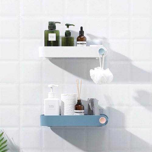 인테리어 공간활용 욕실 벽선반 파스텔 와이드 수납함_(953268)