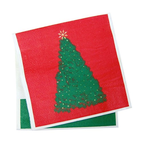 크리스마스 트리 냅킨 20매입_(11636420)