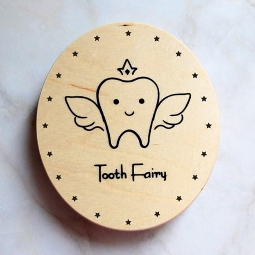 포코 치아요정 유치 보관함 자작나무 치아 상자