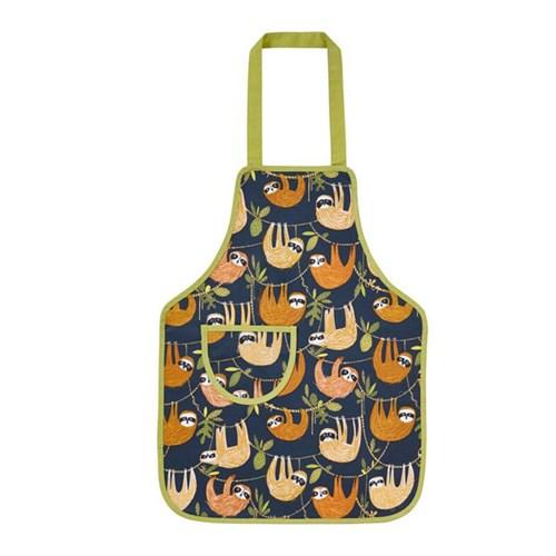 [울스터위버스] 나무늘보 어린이 방수 앞치마