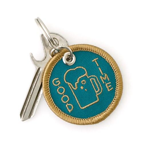 [HIGHTIDE] Stitch Work Keychain