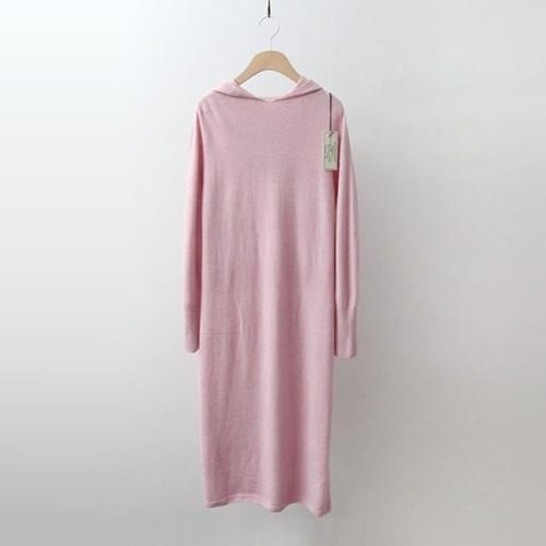 Hoega Wool Cashmere Hood Long Dress