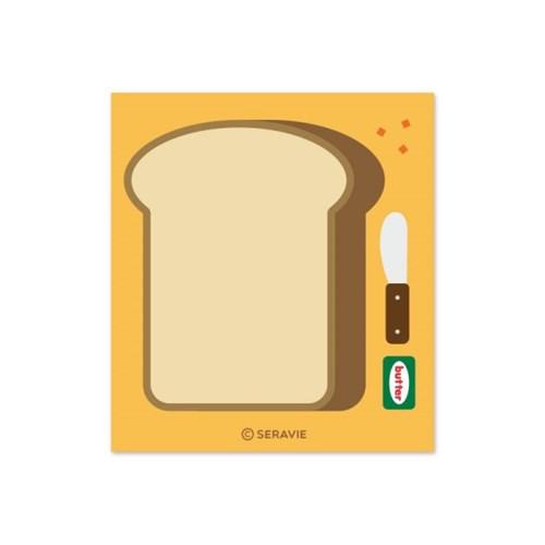 브런치 식빵 떡메모지