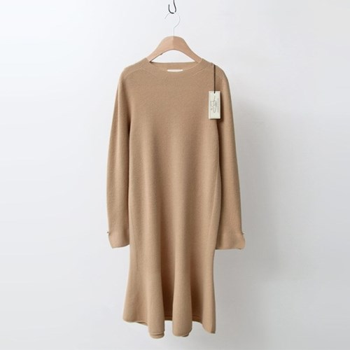 Hoega Wool Pearl Knit Dress