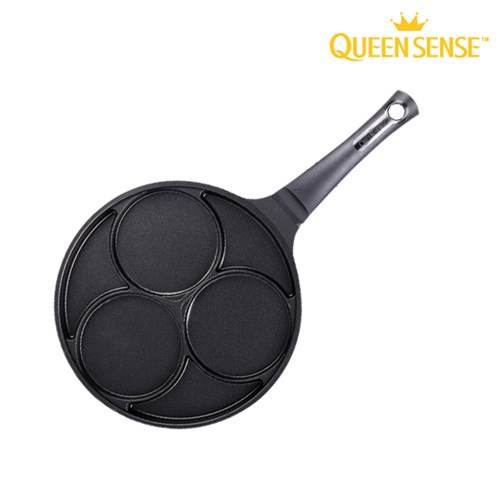 퀸센스 블랙 IH 인덕션 에그팬