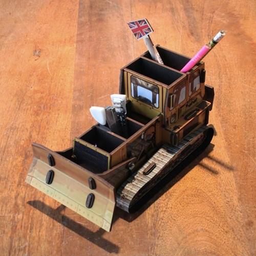 Pencil Box - Caterpiller 불도저