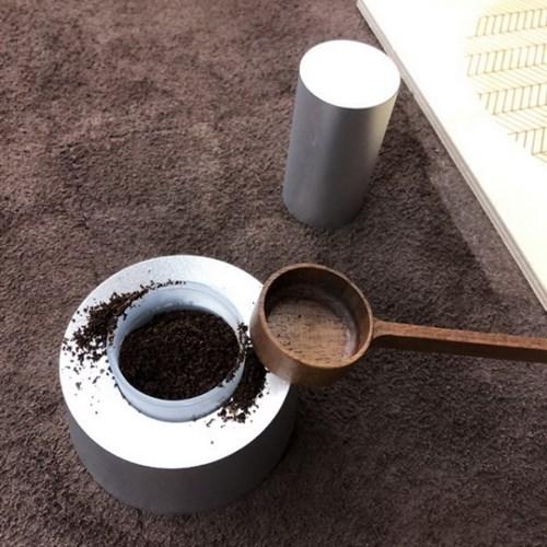 월넛 커피 차 스픈