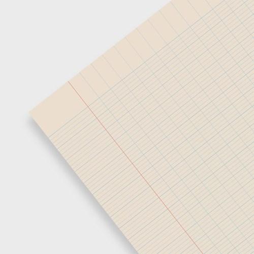 Line graph pad_Blue