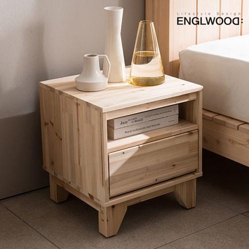 잉글랜더 제르 삼나무 침실 협탁