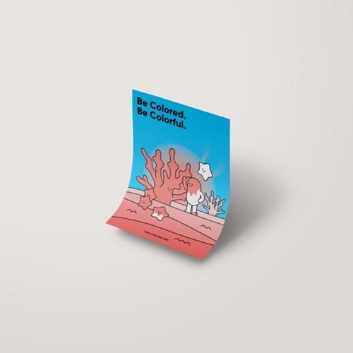 [A3 아트포스터] Meet the Living Coral (리빙코랄)