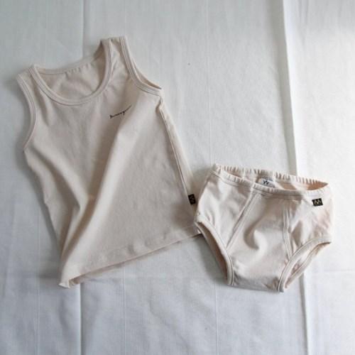 베이직 남아속옷 상하세트