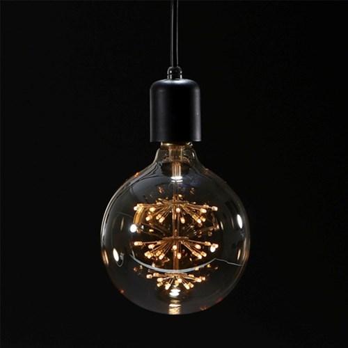 [반짝조명] LED 에디슨 볼 눈꽃전구 2W (G95)_(1102828)