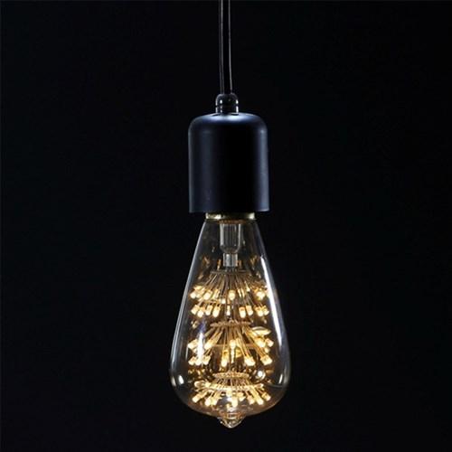 [반짝조명] LED 에디슨 롱 눈꽃전구 2W