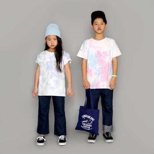 트러스트 물나염 티셔츠