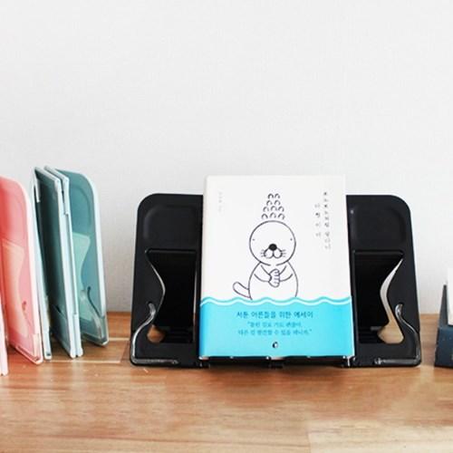 갓샵 SMART 4단 휴대용 독서대 책받침대 접이식 북스탠드 거치대