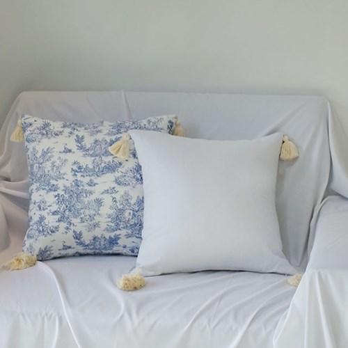 White Linen Tassel