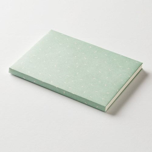 Wrapping paper jacket - Sprinkle-Mint