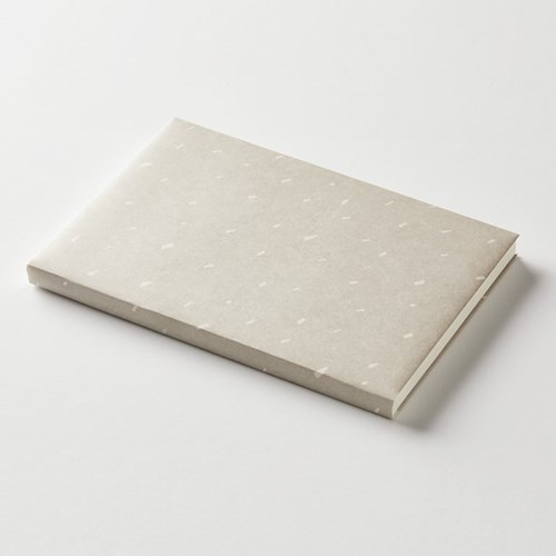 Wrapping paper jacket - Piece-Gray