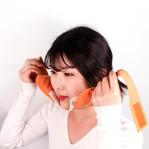 갓샵 턱관절 팥 찜질팩 온열 찜질 팩 황토 천연염색 곡물