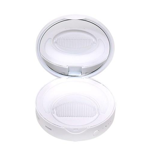 탐닉 플러스 LED손거울 보조배터리_화이트러브