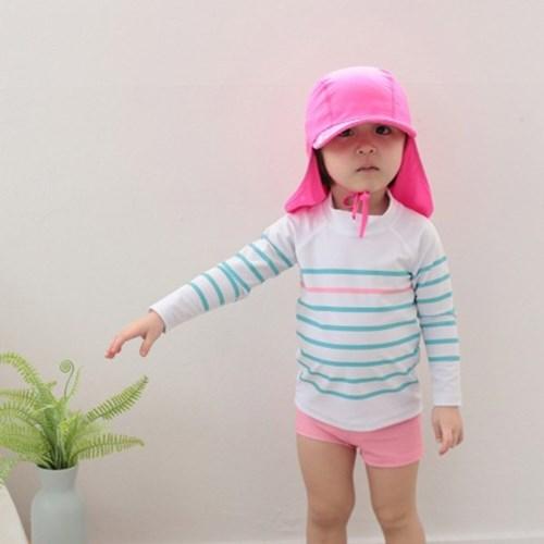 플랩캡아동 수영모자