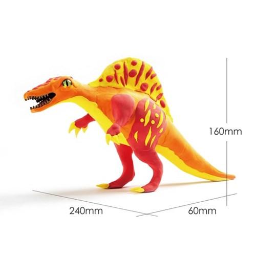 해피플레이 로버드 입체퍼즐 공룡 클레이 스피노사우루스