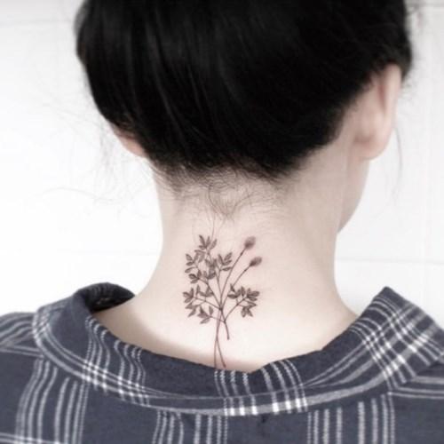 TATTIST 정품 헤나 타투 스티커 30종 컬러 꽃 레터링 수채화