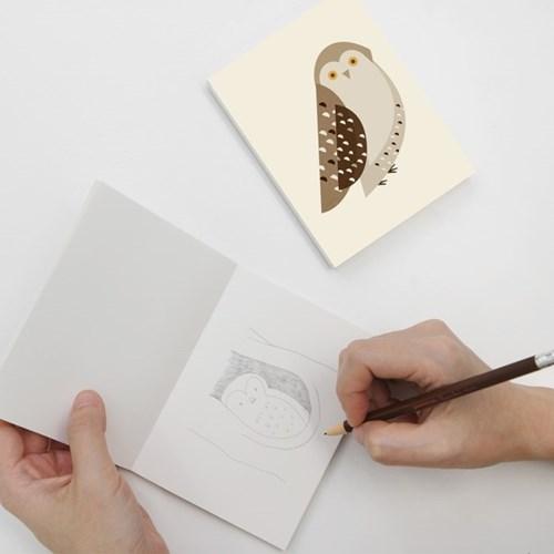 Nature's friends Notebook_Owl