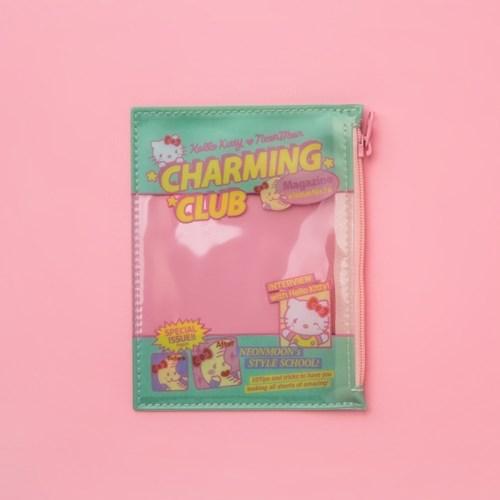 [헬로키티] HELLO KITTY CHARMING CLUB  Mint Pouch