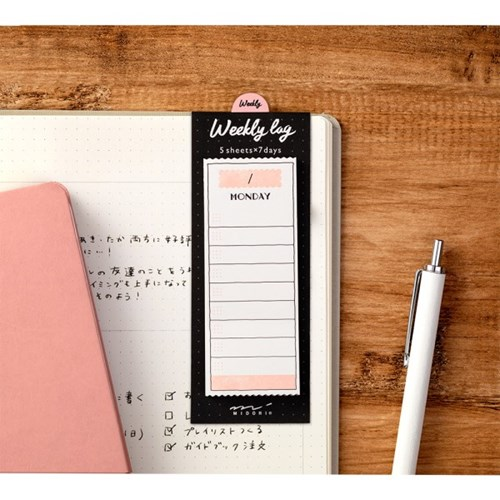 Sticky Notes Journal - Weekly Colorful