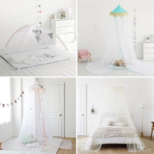 침대 모기장/캐노피/원터치 키즈 모기장 시리즈
