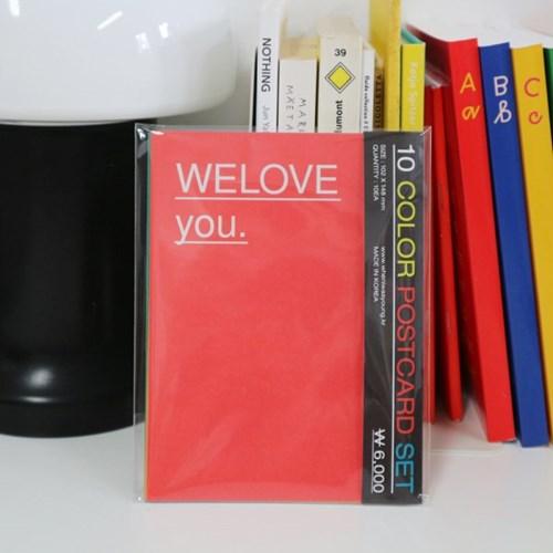 10 Color Postcard set (엽서세트)
