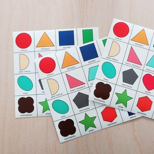 2D Shape Sticker (투명스티커)