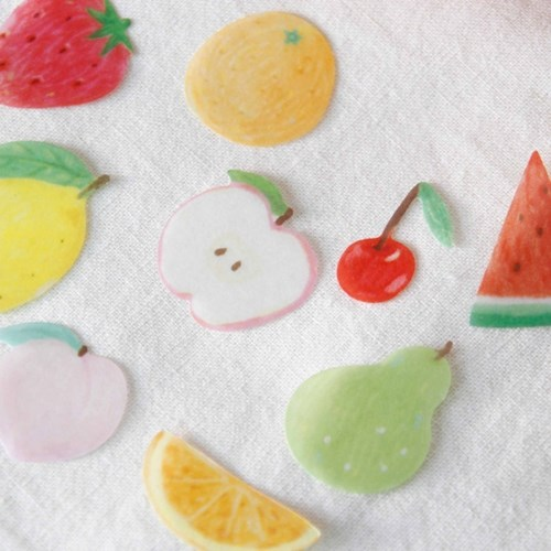 [ Fruit ] Masking Seal Sticker