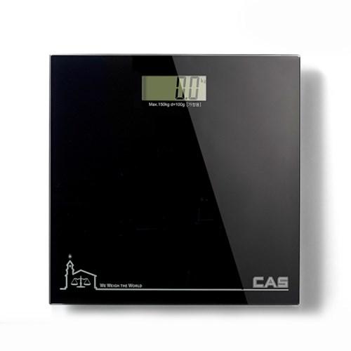 카스(CAS) 블루블랙 디지털 체중계 HE-200