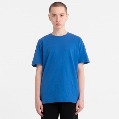 오버핏 드랍숄더 티셔츠_블루_JBT00027-2