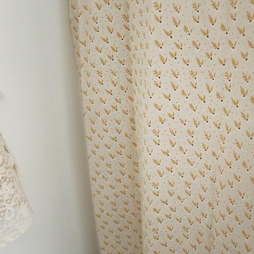[바이아미] 마들렌 꽃무늬 작은창 커튼