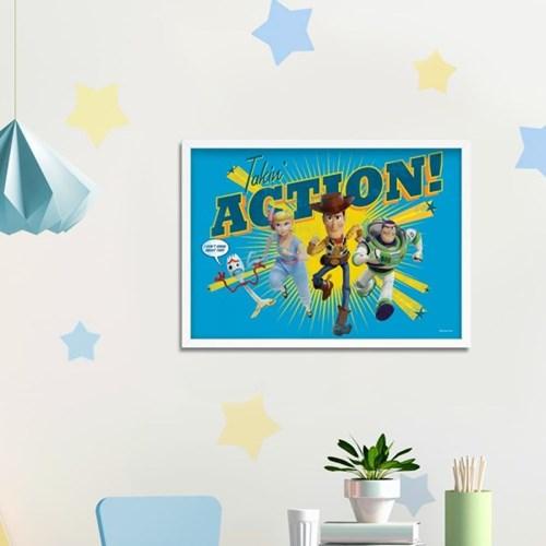 디즈니 인테리어 포스터 - 토이스토리4 메인캐릭터 9종